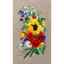 Ribbon set - Colourful bouquet