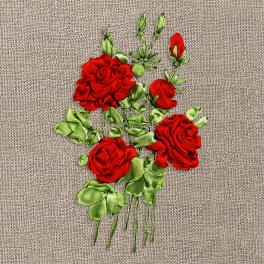 Ribbon set - Roses