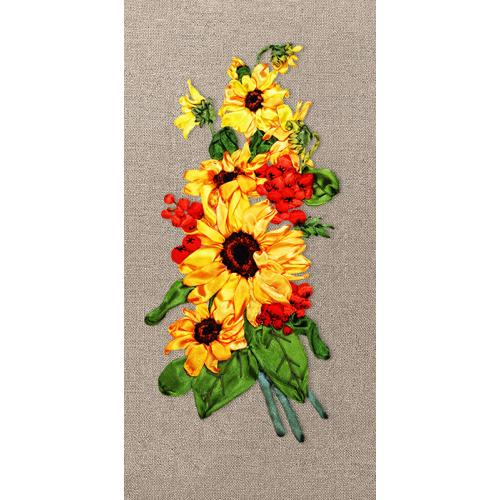 Ribbon set - Sunflowers with rowan