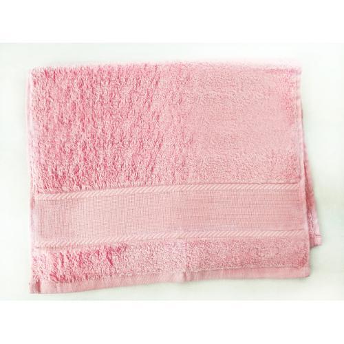 918-03 Towel frotte pink 40x60 cm