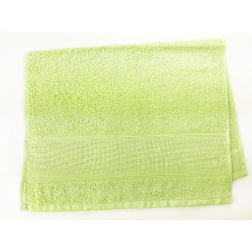 Towel frotte white lemon green 40x60 cm