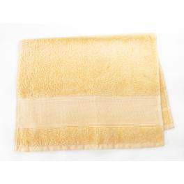 Towels frotte yellow