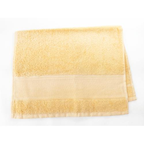 Towel frotte yellow 40x60 cm