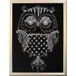 Diamond painting kit - Diamond owl