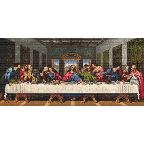 Online pattern - The Last Supper - L. da Vinci