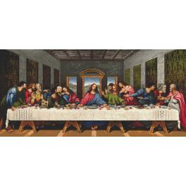 Cross Stitch pattern - The Last Supper - L. da Vinci
