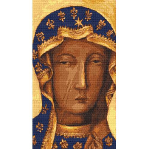 Cross stitch kit - The Holy Virgin of Czestochowa