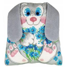 Kit with yarn - Bunny Cushion