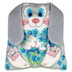 Kit with yarn - Bunny Cushion