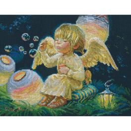 Cross stitch kit - Sky lanterns