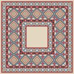 Pattern online - Napkin with ethnic motif I