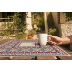 Cross stitch pattern - Napkin with ethnic motif I