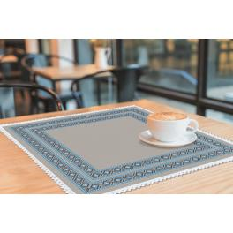 Pattern online - Napkin with ethnic motif II