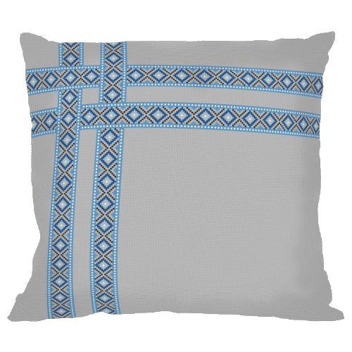 Cross stitch kit - Ethnic pillow II