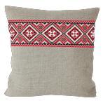 Cross stitch kit - Ethnic pillow linen I