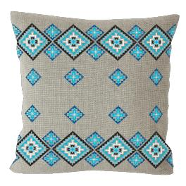 Cross Stitch pattern - Ethnic pillow linen II