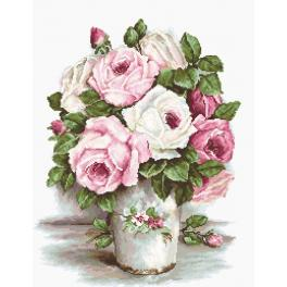 LS B2329 Cross stitch kit - The Roses
