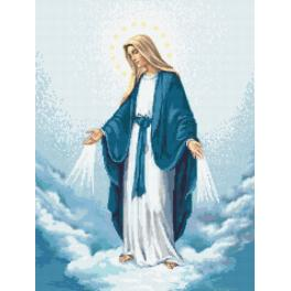 Cross Stitch pattern - Holy Mary of the Immaculate Conception