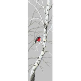 Tapestry aida - Birches II