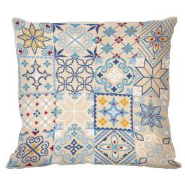 Cross stitch kit - Moroccan pillow I