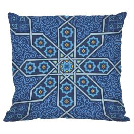 Cross stitch kit - Moroccan pillow II