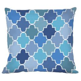 Cross stitch kit - Moroccan pillow IV
