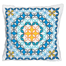 Cross Stitch pattern - Moroccan pillow V