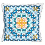 Cross stitch kit - Moroccan pillow V