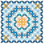 Cross stitch kit - Moroccan pillow V