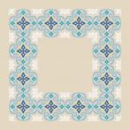 Cross stitch pattern - Moroccan napkin I