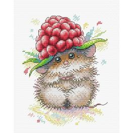 Cross stitch kit - Raspberry charm