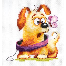 Cross stitch kit - Who are you?