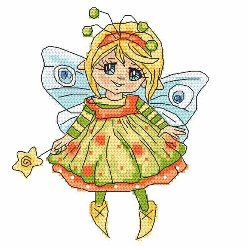 Graphic pattern - Little fairy