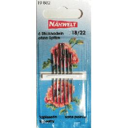 Embroidery needles- Nahwelt (18-22)
