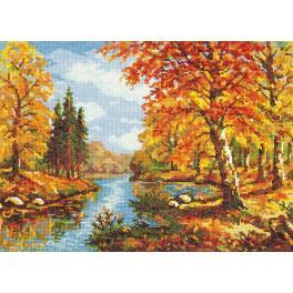 Cross stitch kit - Golden autumn