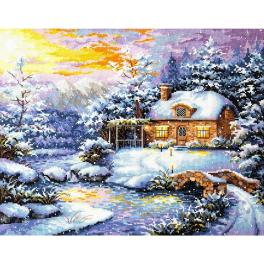 MN 45-08 Cross stitch kit - Winter's tale