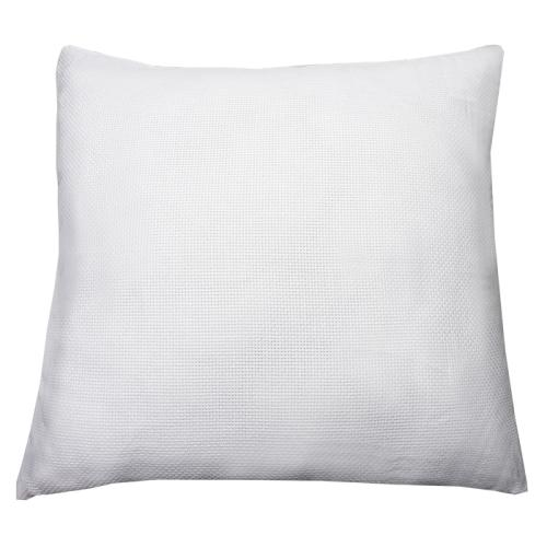 Pillow cover 40x40 cm back ecru (46 stitches/10cm)