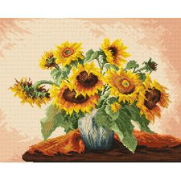 K 740 Tapestry canvas - Sunflowers