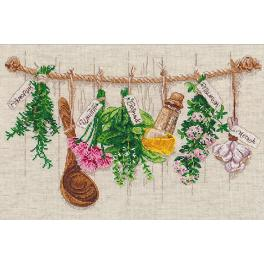 OV 1079 Cross stitch kit - Fragnant Herbs