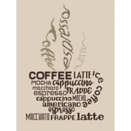 W 8921 Pattern online - Cup of coffee