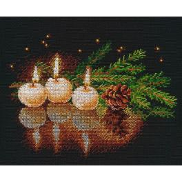 OV 1013 Cross stitch kit - A Candle was burning