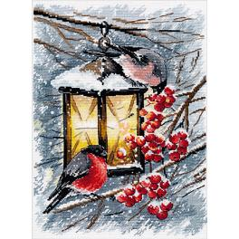 OV 1024 Cross stitch kit - A Christmas Light