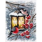 Cross stitch kit - A Christmas Light