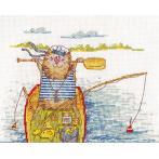 Cross stitch kit - Fishing Success