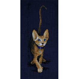Cross stitch kit - Cat - Golden Sphinx