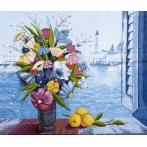 Cross stitch kit - Morning in Venice