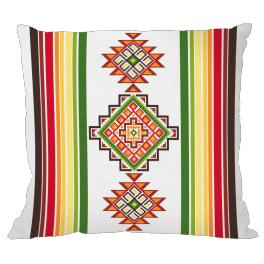 Cross Stitch pattern - Mexican pillow I