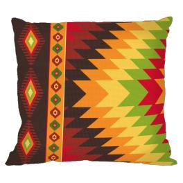 Cross stitch kit - Mexican pillow II
