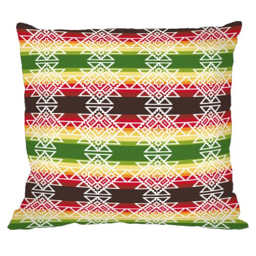 Online pattern - Mexican pillow III