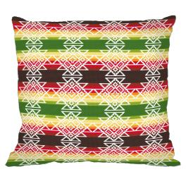 Cross stitch kit - Mexican pillow III
